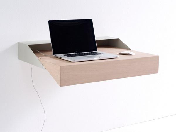 节省空间的笔记本电脑桌