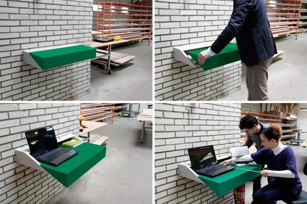 节省空间的多功能笔记本电脑桌(五)