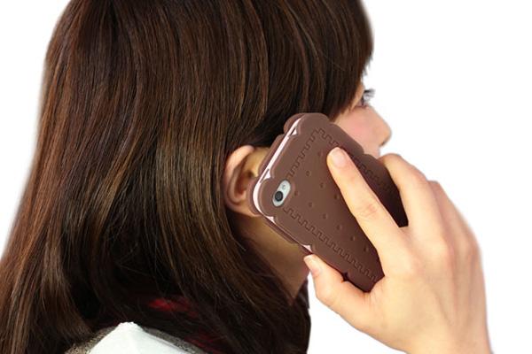 夹心饼手机壳展示