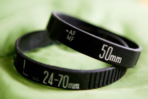镜头圈样式的手环