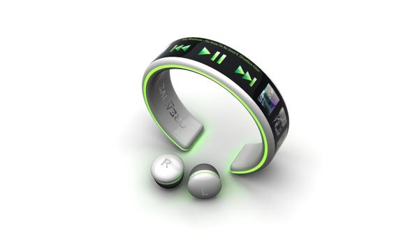 超概念的手环型触屏MP3(二)