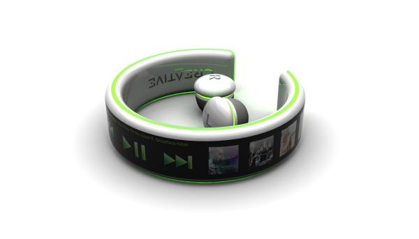 超概念的手环型触屏MP3(四)