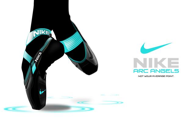 Nike足尖舞鞋