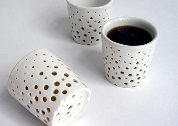 隔热陶瓷水杯