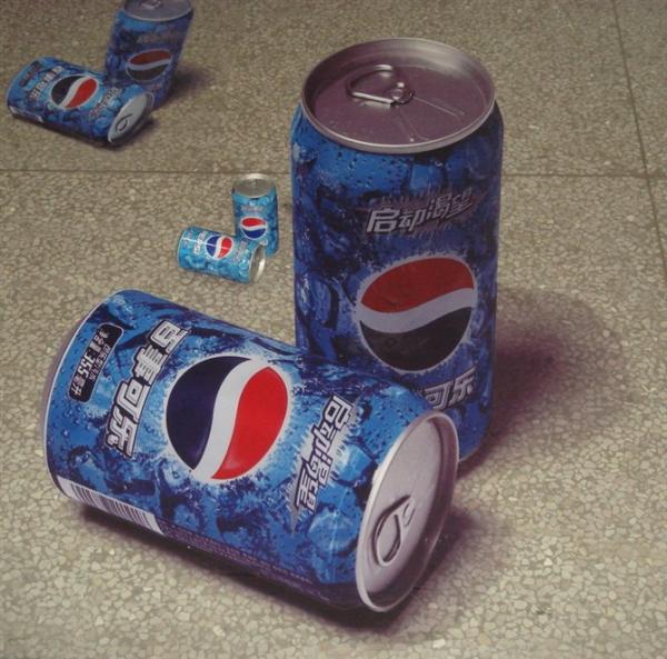另人瞋目的街头3D艺术