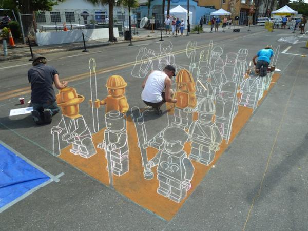 另人瞋目的街头3D艺术(三)