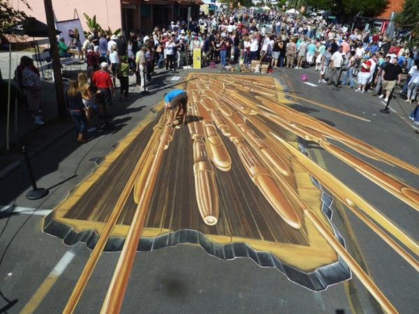 另人瞋目的街头3D艺术(四)