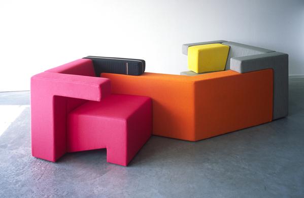 可以任意组合的创意多彩沙发(二)