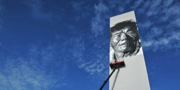 亚洲最高的人物壁画(二)