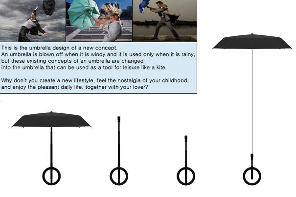 神奇浪漫的雨伞风筝(二)
