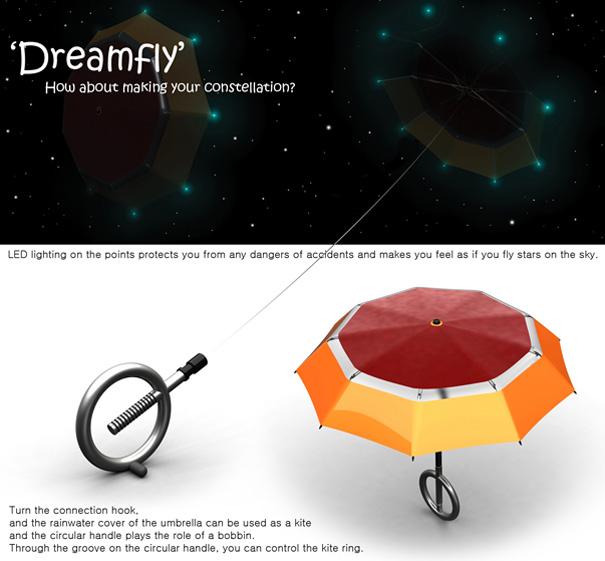 神奇浪漫的雨伞风筝(三)