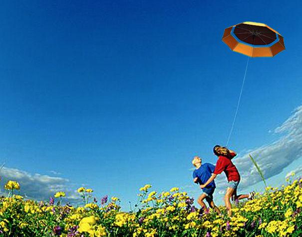 神奇浪漫的雨伞风筝(五)