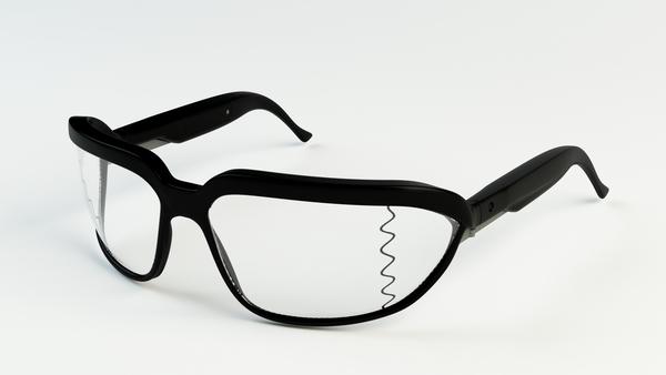 为盲人设计的声波眼镜
