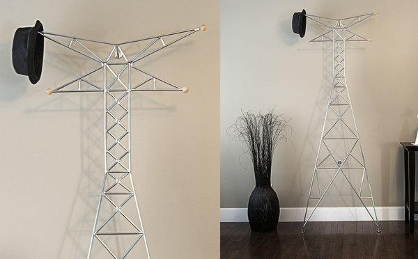电视塔形状的创意衣架(二)