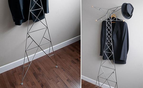 电视塔形状的创意衣架(三)