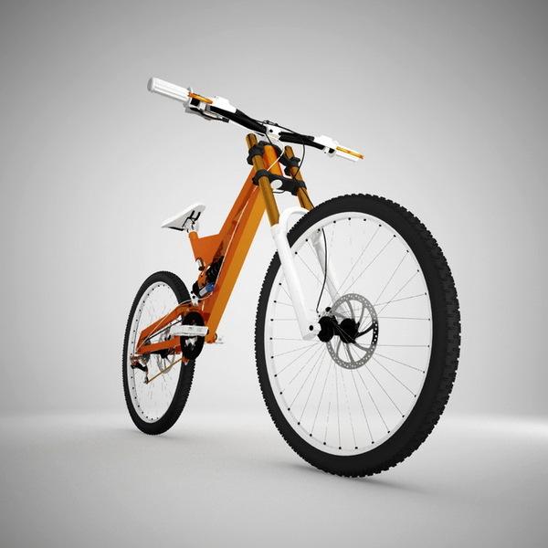 3D版的自行车(二)