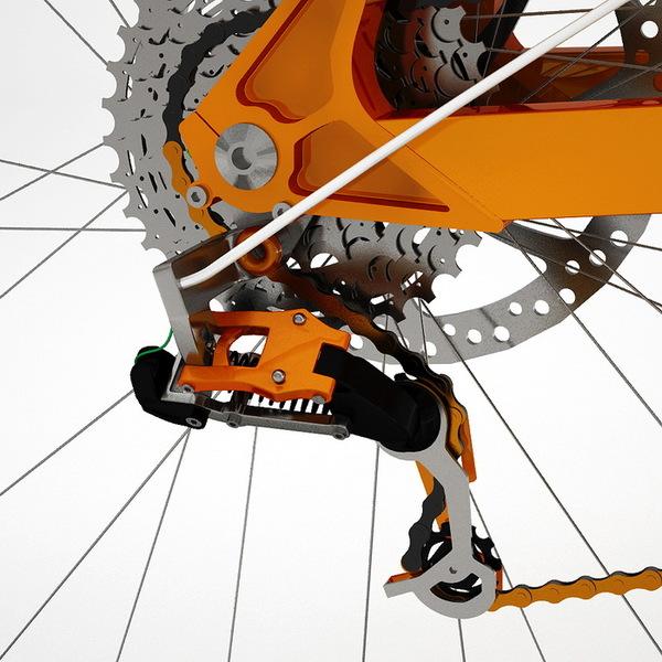 3D版的自行车(三)