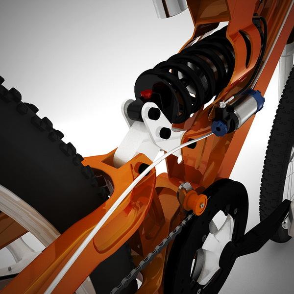 3D版的自行车(四)