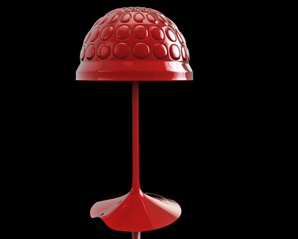 普罗米修斯感觉的台灯