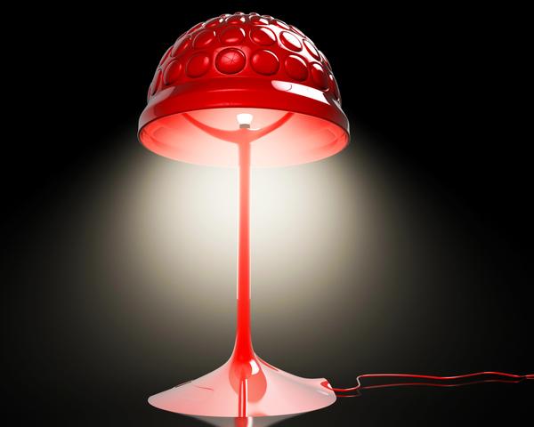 普罗米修斯感觉的台灯-玩意儿
