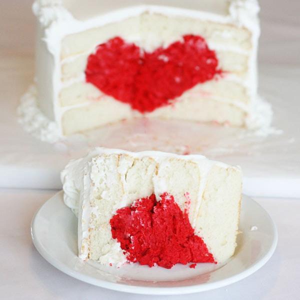 藏在蛋糕里的爱心(三)