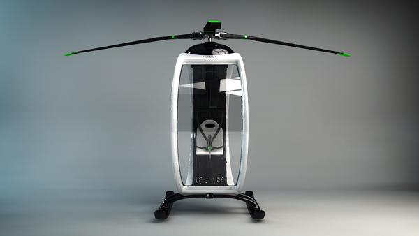 超帅超概念的0℃直升机(三)