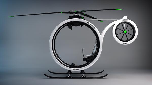 超帅超概念的0℃直升机(四)