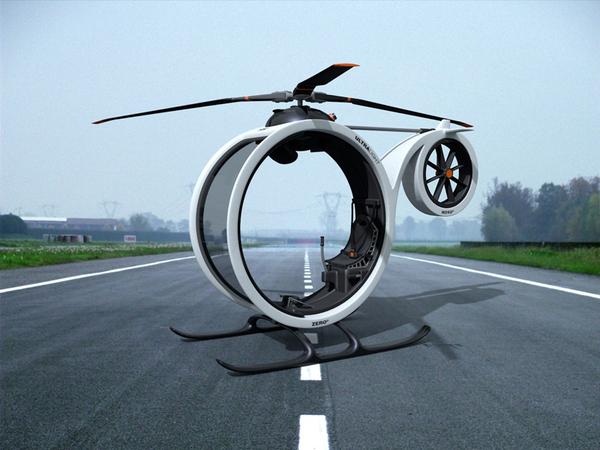 超帅超概念的0℃直升机(五)