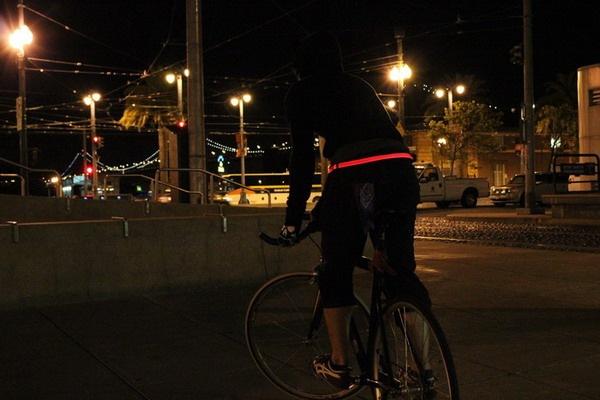 帅气十足的LED腰带(二)