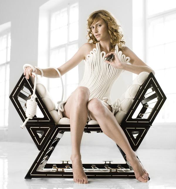 创意多变的变形金刚座椅