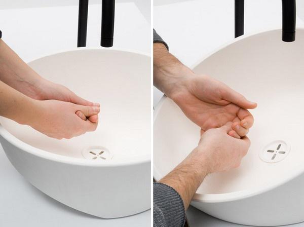 很有爱的创意洗手盆