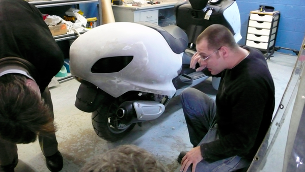 Q版的胖胖的摩托车(四)