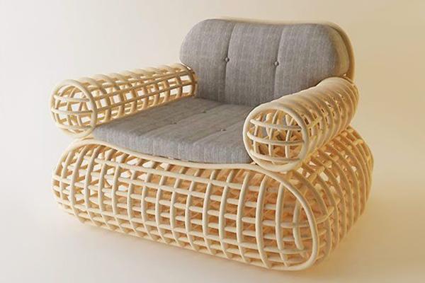 Doeloe Lounge 树腾椅子