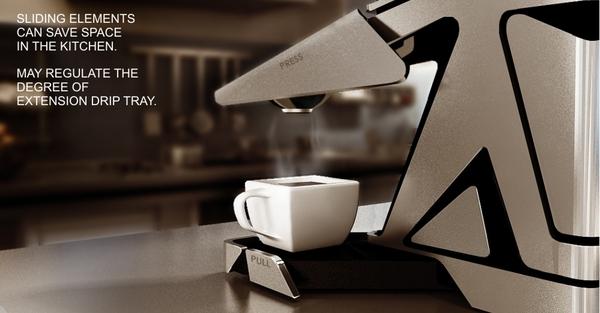 充分利用空间的创意咖啡机(二)