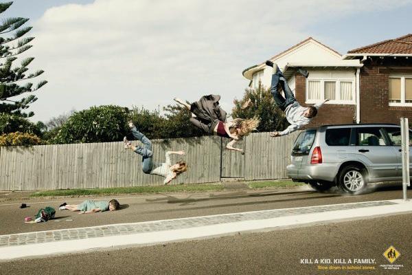 创意广告 注意行使安全(三)