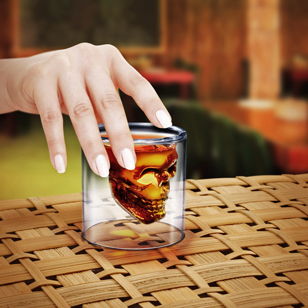 Crystal Skull 骷髅头酒杯
