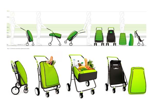 童车样式的购物手推车(二)