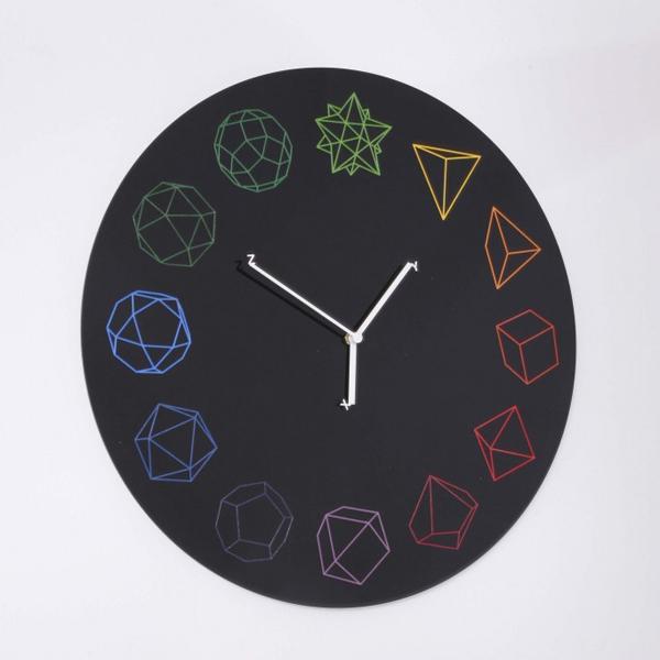HO 几何表盘时钟(四)