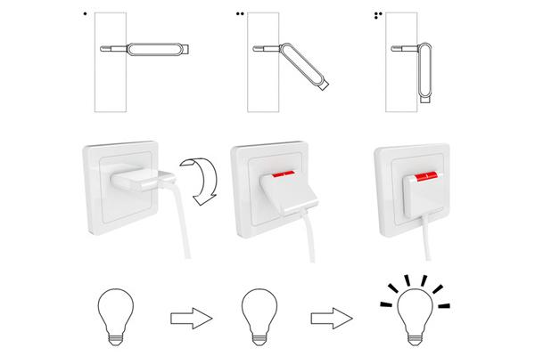 中科院选课助手折叠的插头设计-玩意儿