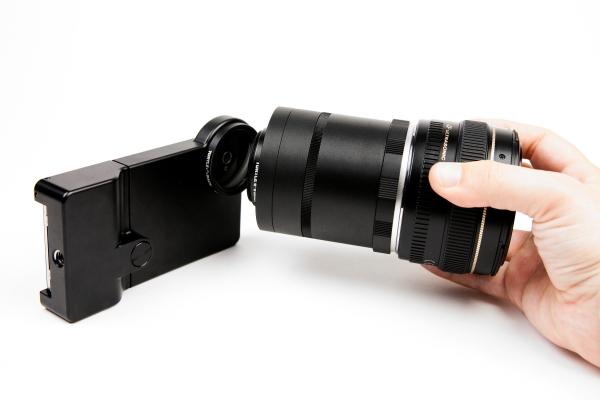 iPhone 单反镜头转接环(三)
