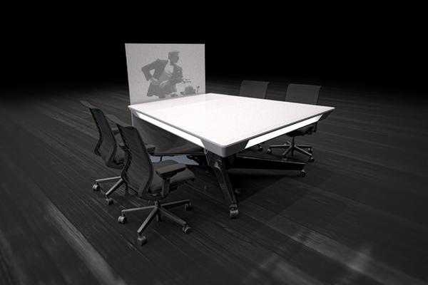 可移动的小型概念会议桌