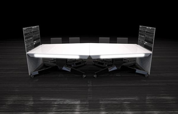 可移动的小型概念会议桌(二)