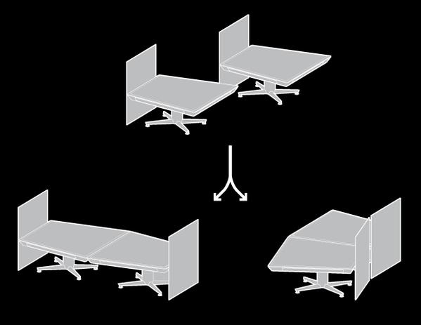 可移动的小型概念会议桌(四)