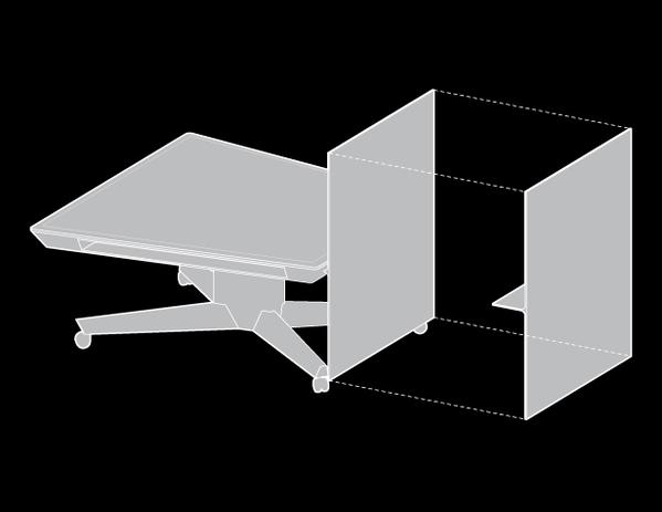 可移动的小型概念会议桌(五)