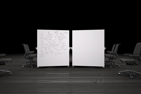可移动的小型概念会议桌(六)