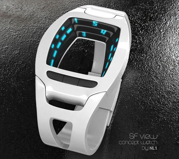 SF 科幻的概念手表(二)