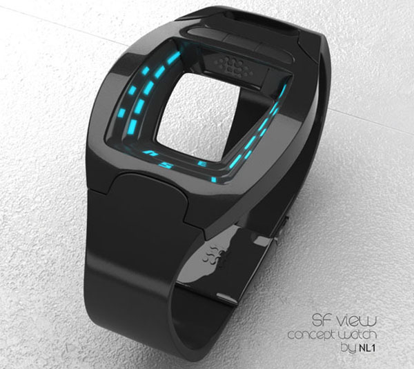 SF 科幻的概念手表(四)