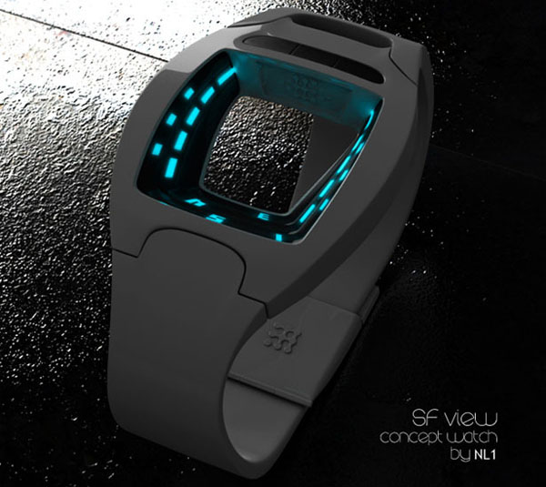SF 科幻的概念手表(五)