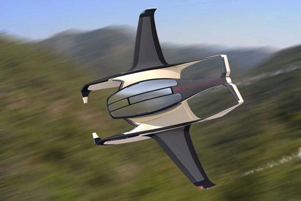 水空两栖的概念飞机