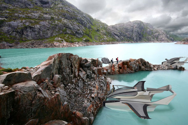水空两栖的概念飞机(二)